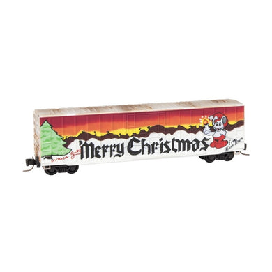 Micro-Trains MTL Z SOO Line Weathered Christmas 2 Pack Box Cars 51144180 BSB-25