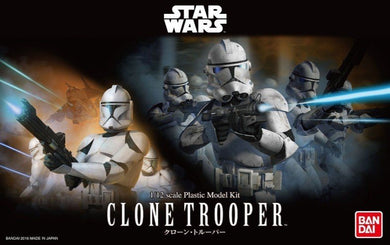 Bandai Star Wars 1/12 Clone Trooper Plastic Model Kit 207574