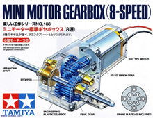 Load image into Gallery viewer, Tamiya 70188  Mini Motor 8 Speed Gear Box
