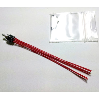 Connkur 1/24 - 1/25 Black/Red Prewired Distributor CMP2R