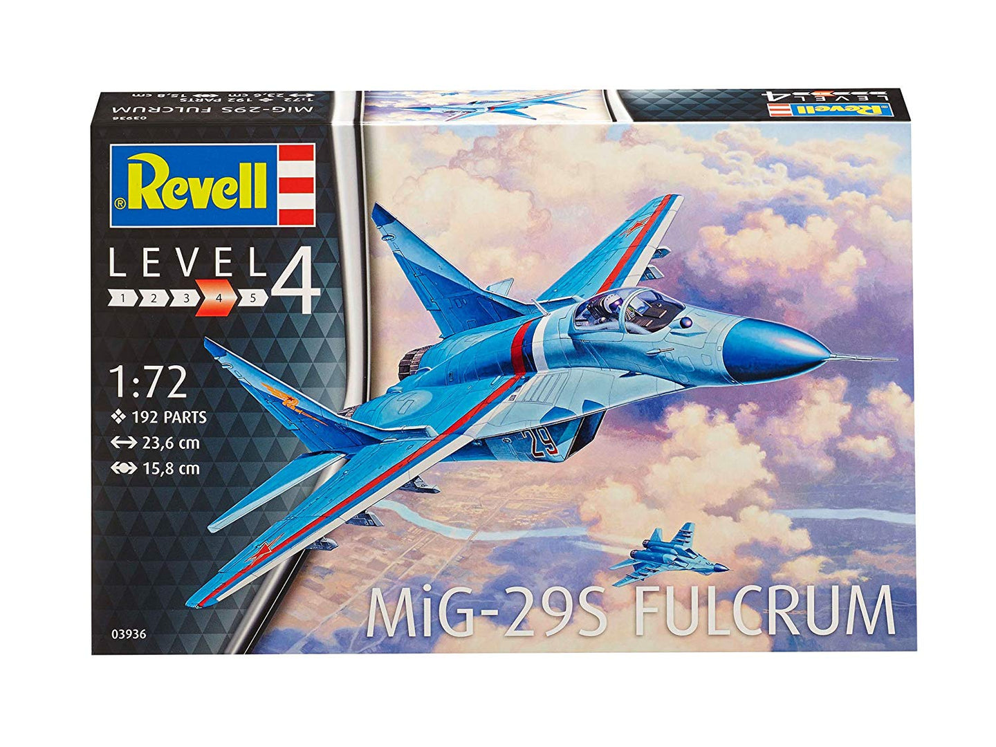Revell Germany 1/72 mig-29s fulcrum 03936