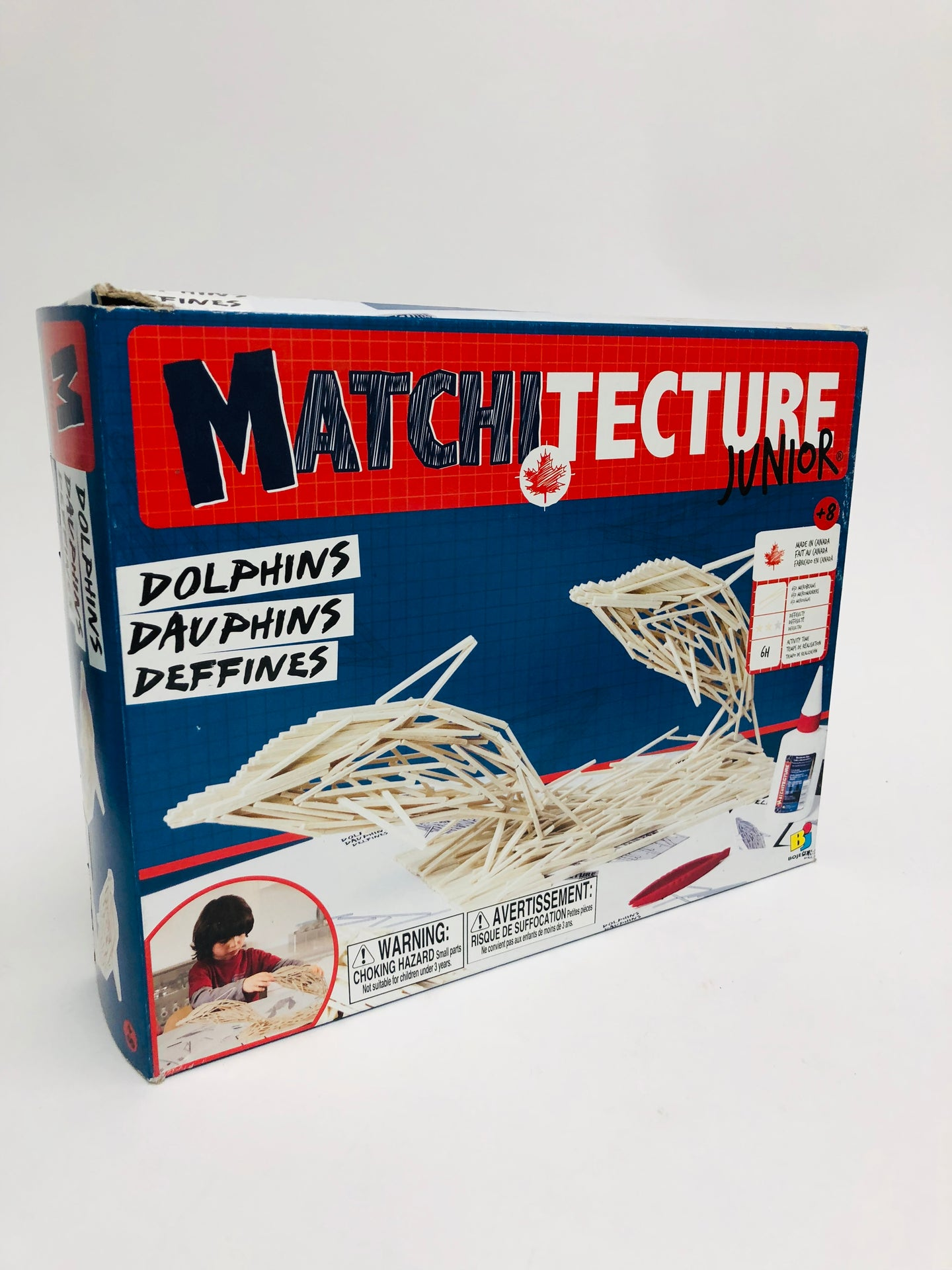 Matchitecture Junior - Dolphins Wood Kit 6803