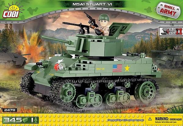 Cobi Historical Collection US M5A1 Stuart VI 2478