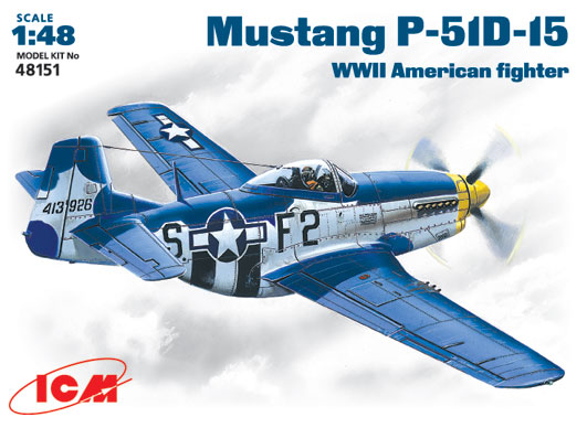 ICM 1/48 US P-51D-15 Mustang 48151