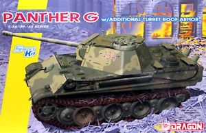 Dragon 1/35 German Panther G w/Additional Turret Roof Armor 6897