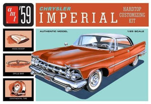 AMT 1/25 Chrysler Imperial 1959 Hardtop Customizing Plastic Kit 1136