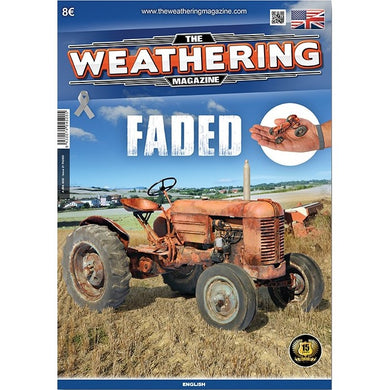 Ammo by Mig Book AMIG4520 The Weathering Magazine Faded