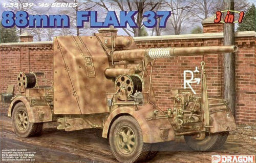 Dragon 1/35 German 88mm Flak 37 6287
