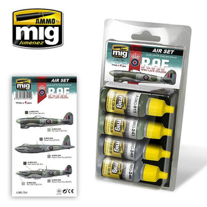 Ammo by Mig AMIG7214 RAF Late WWII  Colors Paint Set