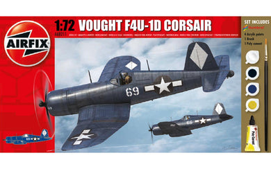 Airfix 1/72 Starter Set Vought F4U-1D Corsair A68211
