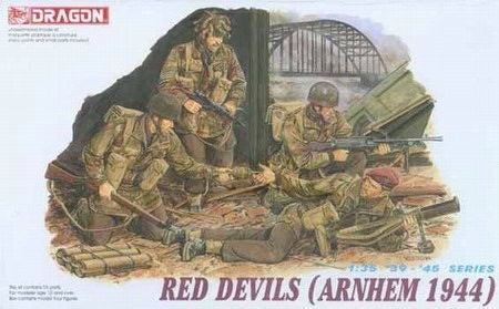 Dragon 1/35 red devils (Arnhem 1944) Plastic Model Kit 6023