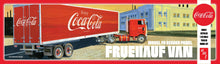 Load image into Gallery viewer, AMT 1/25 Fruehauf Van FB Beaded Panel Coca Cola Trailer AMT1109
