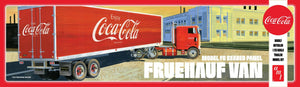 AMT 1/25 Fruehauf Van FB Beaded Panel Coca Cola Trailer AMT1109