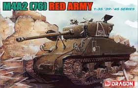 Dragon 1/35 US M4A2 (76) Red Army 6188