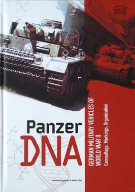 Ammo by Mig Book AMIG6035 Panzer DNA Book Hardcover 6035