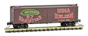 Micro-Trains Z Scale Heinz 40' Wood Reefer Car #7 51800520