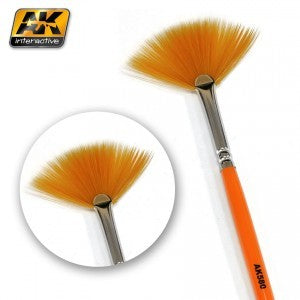 AK Interactive AK580 Weathering Brush Fan Shape