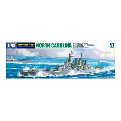 Aoshima 1/700 US Navy Battleship North Carolina 046005