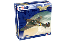 Load image into Gallery viewer, Corgi 1/72 British Hawker Hurricane MkI AA27605