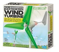 4M Kidz Labs Build Your Own Wind Turbine FMK3018