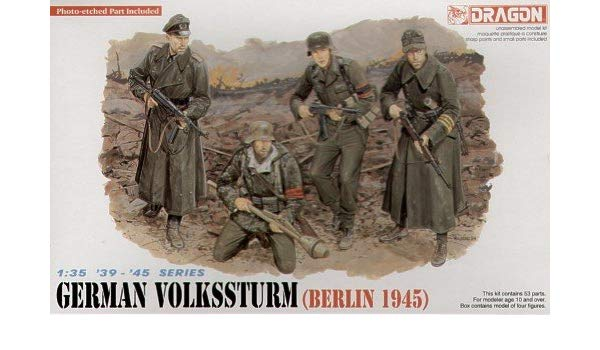 Dragon 1/35 German Volkssturm Figures 6020