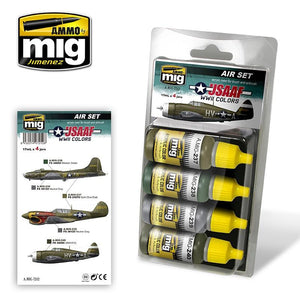 Ammo by Mig AMIG7212 USAAF WWII  Colors Paint Set