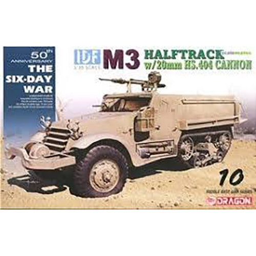 Dragon 1/35 IDF M3 Halftrack w/ 20mm HS.404 Cannon 3598