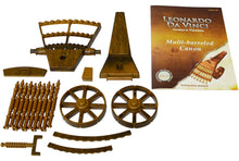 Load image into Gallery viewer, Edu-Toys Leonardo Da Vinci Multi-Barreled Cannon Science Kit 61005C