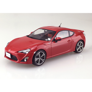 Aoshima 1/24 Toyota 86 GT Limited Lightning Red Painted Body 01006