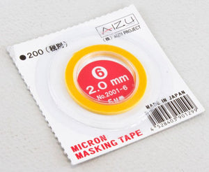 Aizu Project 2.0mm x 5M Masking Tape 2001-6