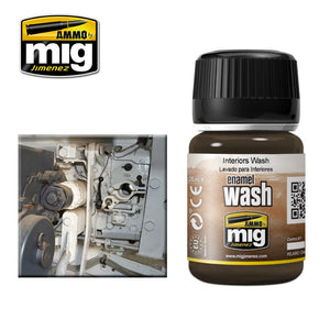 Ammo by Mig AMIG1003 Interiors Wash