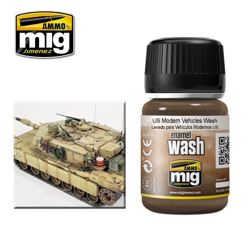 Ammo by Mig AMIG1007 US Modern Vehicles Wash