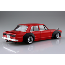 Load image into Gallery viewer, Aoshima 1/24 Nissan Skyline 2000GT 4DR 1971 05065