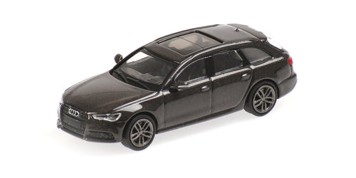 2018 RED METALLIC M1:87 Minichamps AUDI A6 AVANT