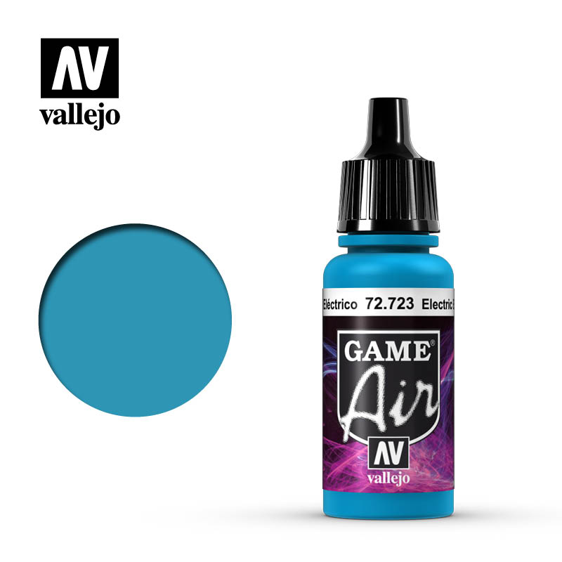Vallejo Game Air 72.723 Electric Blue 17ml
