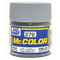 Mr. Hobby Mr. Color Lacquer C376 Random Grey C376 10ml