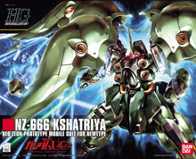 Load image into Gallery viewer, Bandai 1/144 HG #099 NZ-666 Kshatriya Neo Zeon Prototype 5058263