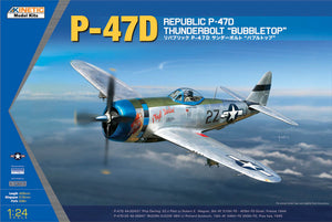 Kinetic 1/24 US P-47D Thunderbolt Bubbletop K3207 COMING SOON