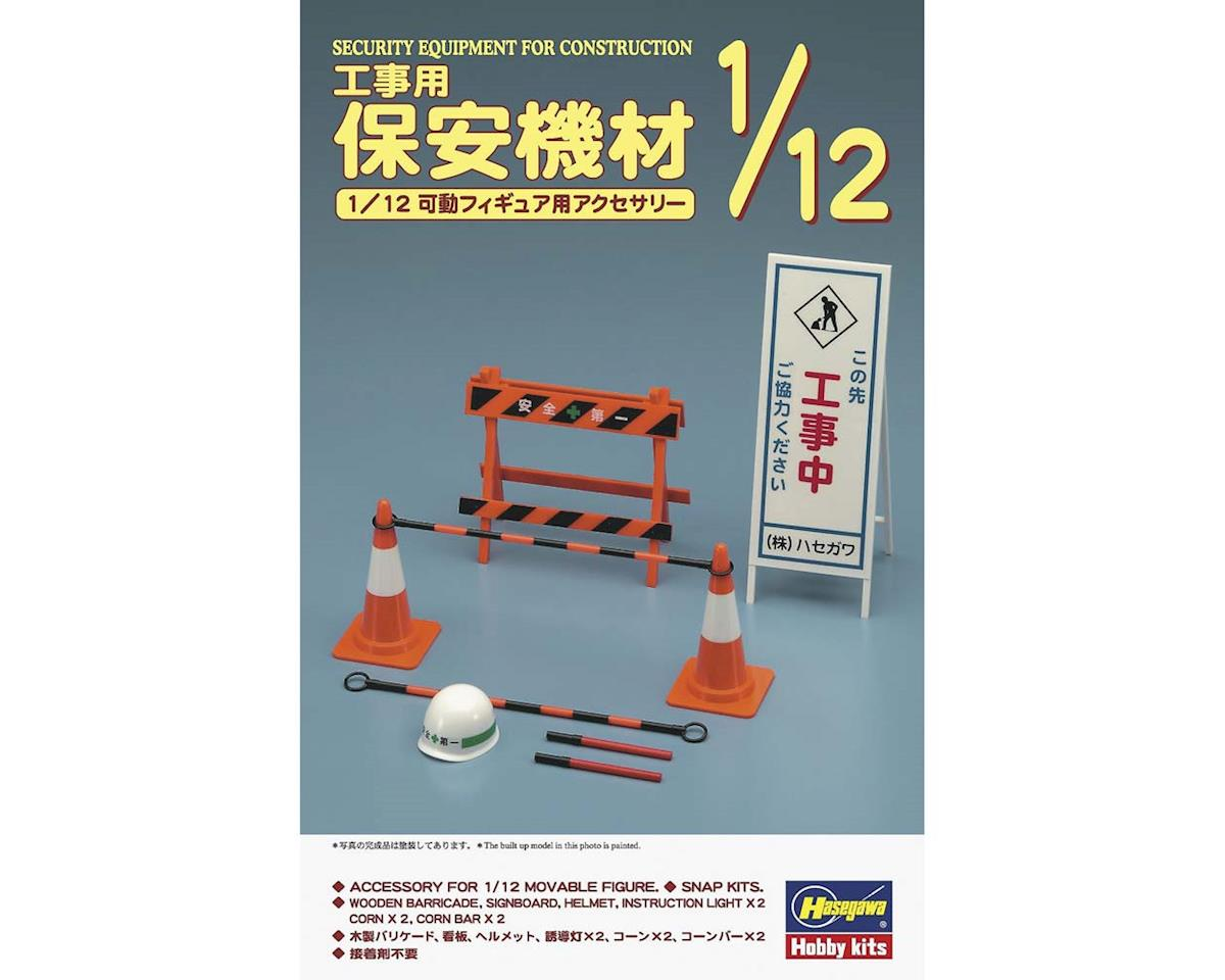 Hasegawa 1/12 Security Equipment For Construction 62008