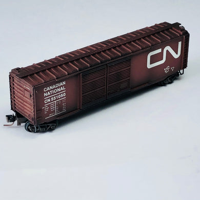 Micro-Trains MTL Z Weathered Canadian National 50' Box Car 50644280 BSB286