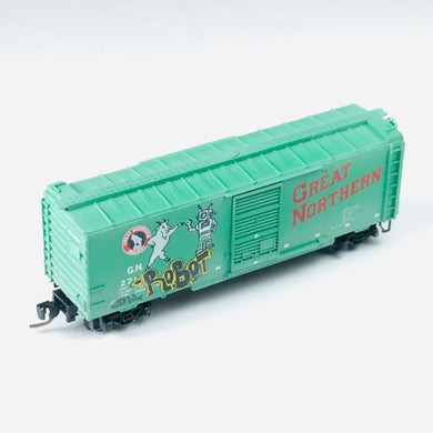 Micro-Trains MTL Z Graffiti Weathered Great Northern 40' Box Car 50044440 BSB285