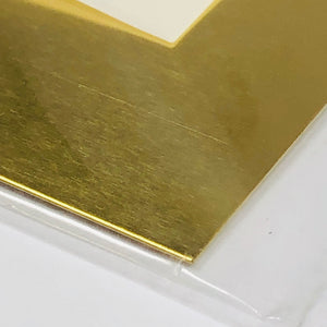 "K&S 252 Brass Sheet 0.015""x 4"" x 10"""