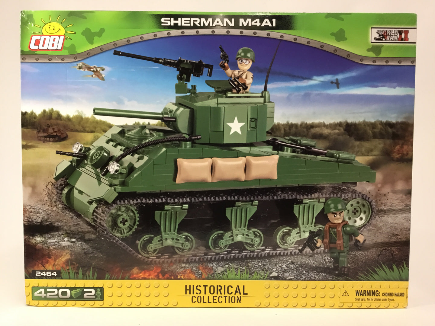 Cobi Historical Collection US M4 Sherman 2464