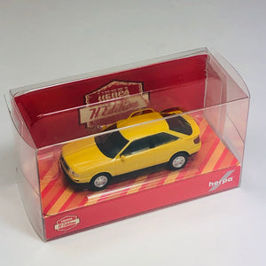 Herpa 1/87 HO Audi Quattro Coupe Yellow (Herpa H Edition) 420341