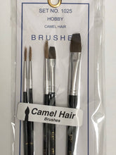 Load image into Gallery viewer, Atlas Paint Brush Camel Hair Set 1025