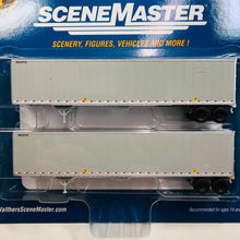 Load image into Gallery viewer, Walthers 1/87 HO UPS Trailer w/o Logo 2-Pack 949-2255