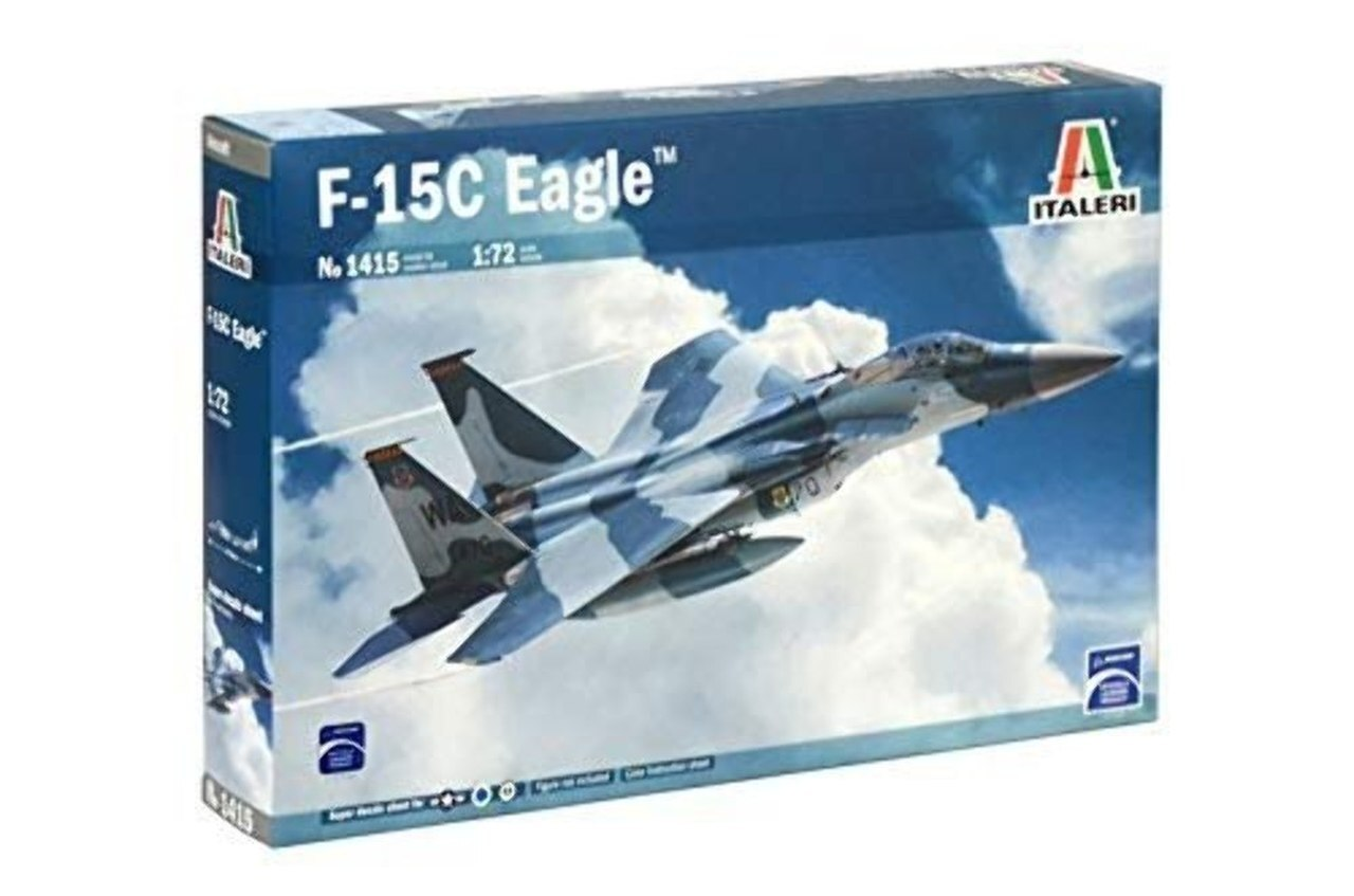 Italeri 1/72 US Air Force F-15C Eagle 1415
