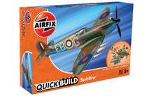 Load image into Gallery viewer, Airfix Quickbuild Snap British Spitfire J6000