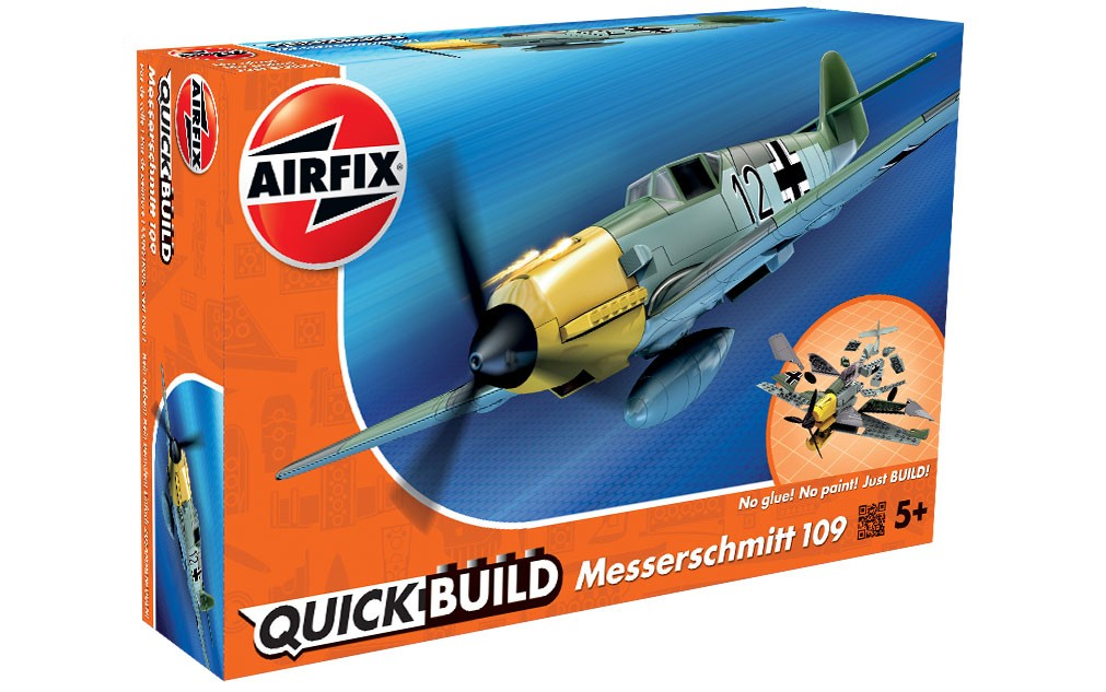 Airfix Quickbuild Snap German Me 109 J6001