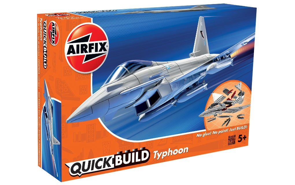 Airfix Quickbuild Snap British Typhoon j6002